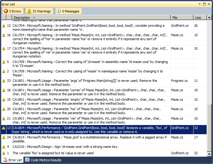 http://www.pererikstrandberg.se/blog/testing-visual-studio/08-static-code-analysis-results.png